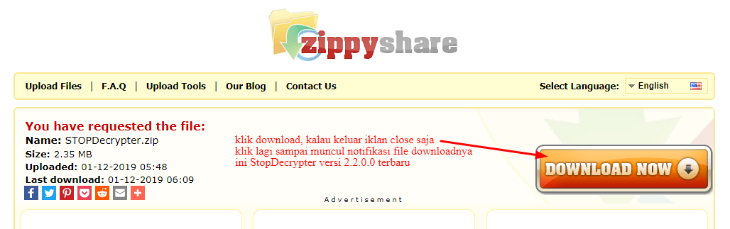 Download stopdecrypter versi 2.2.0.0 terbaru