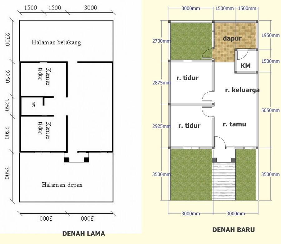 Rumah Sederhana Tipe 36