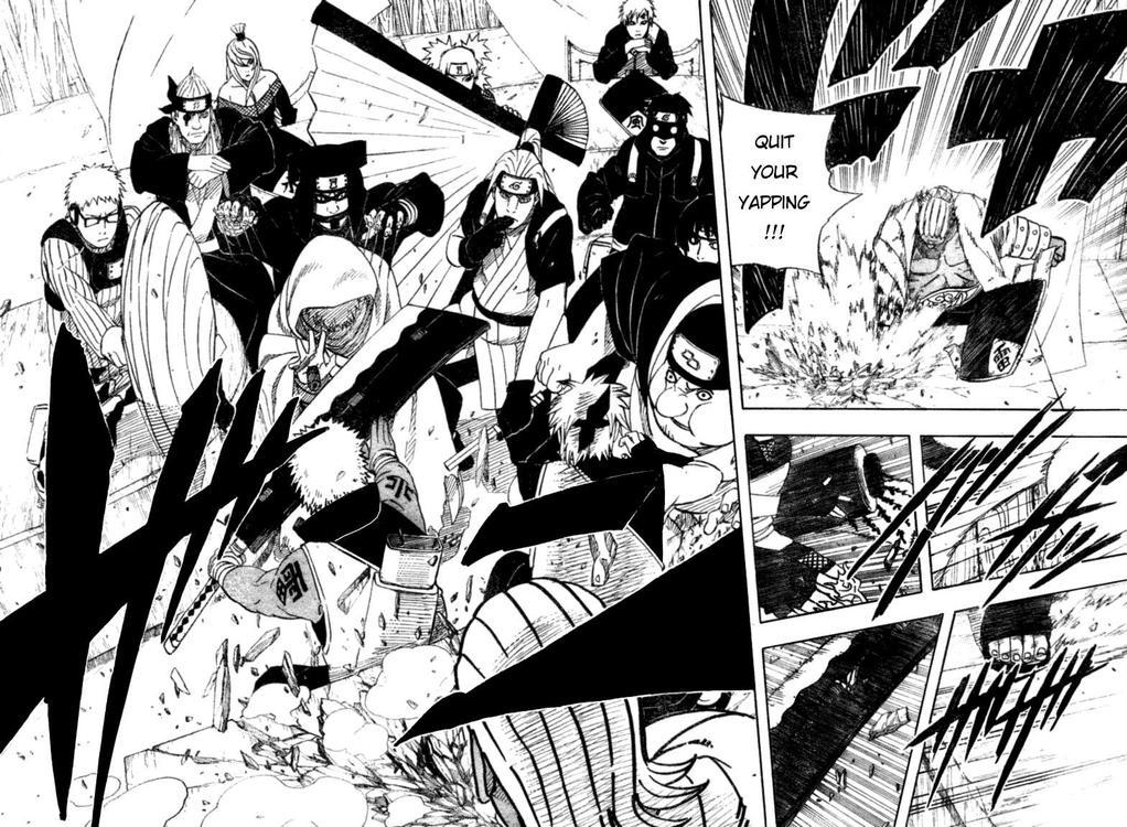 Komik Naruto 458; Apakaha Mizukage Yagura = Tobi = Madara Uchiha?