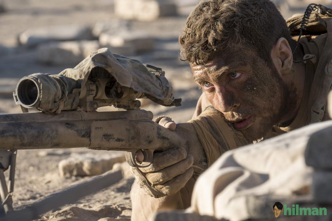 Film Sniper THE WALL (2017) Sniper Amerika vs Juba, Sniper Baghdad Irak