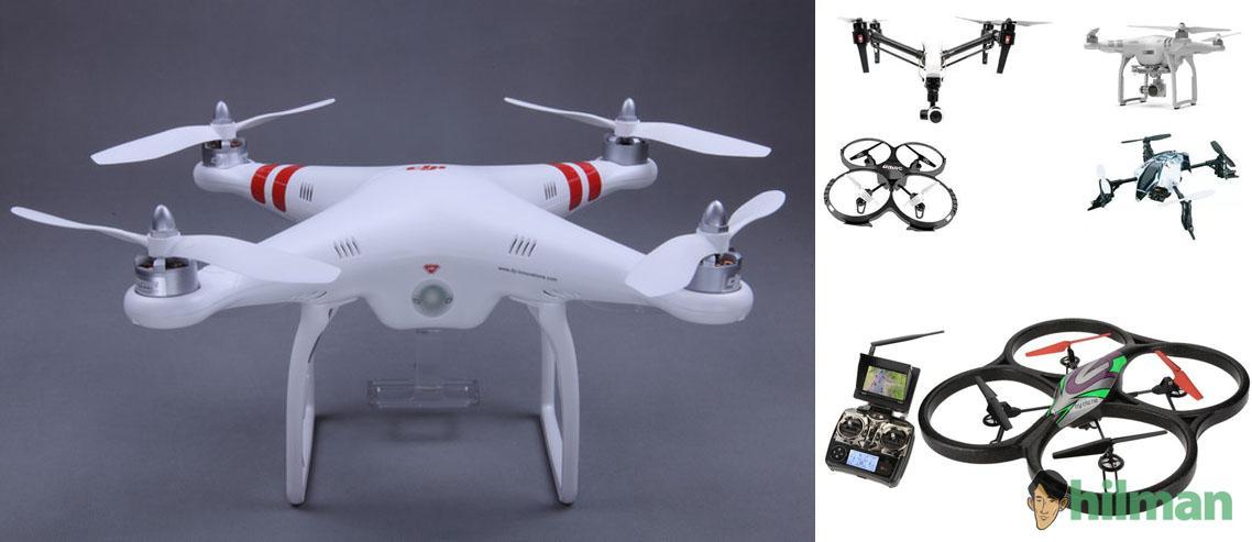 Daftar Drone Quadcopter Termurah Harga 1 jutaan