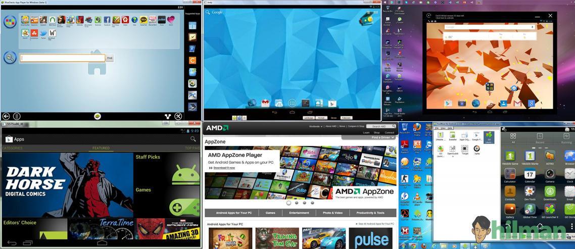 Perbandingan 7 Android Emulator untuk PC