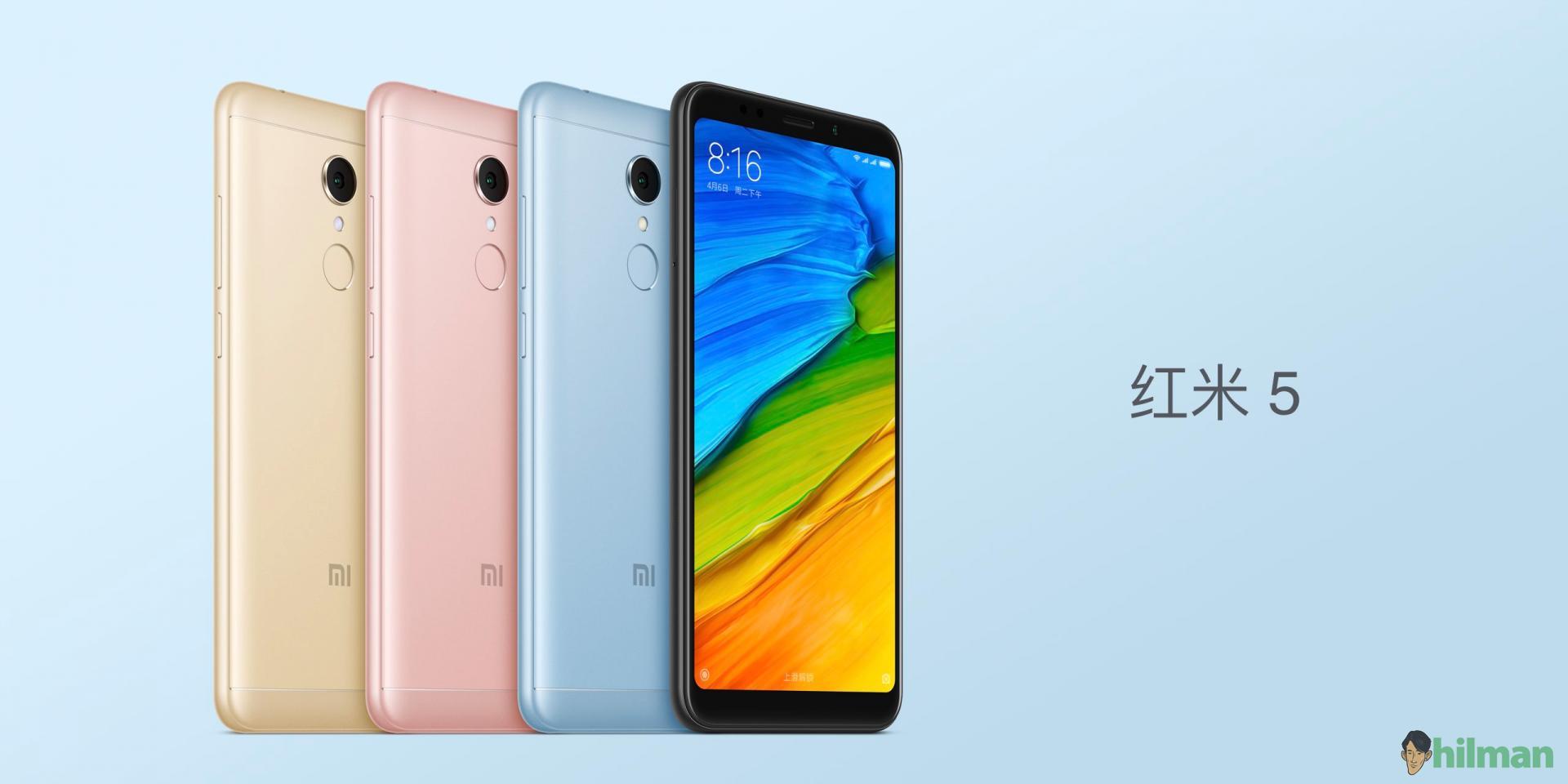 Xiaomi Rilis Redmi 5 dan 5 Plus, Smartphone Spesifikasi Tinggi dengan Harga 1 jutaan