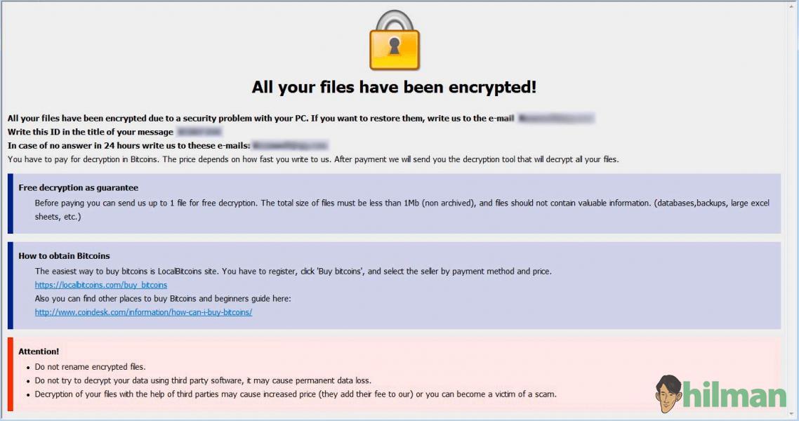 Cara Dekripsi File yang Terinfeksi Ransomware ADOBE dengan STOP Decryptor