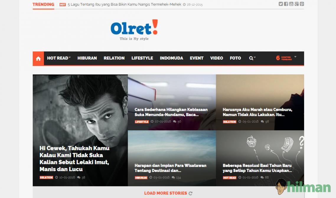 10 Website Anak Muda dan Remaja Indonesia