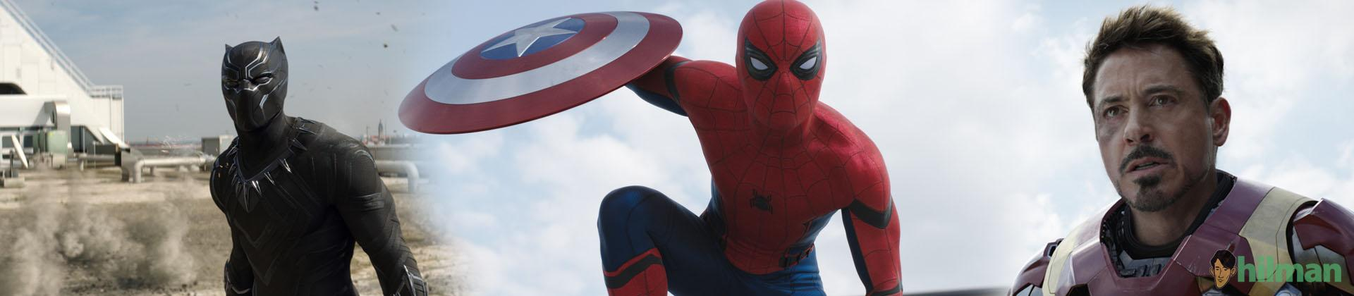 Kemunculan SpiderMan di Trailer Terbaru Film Captain America: Civil War