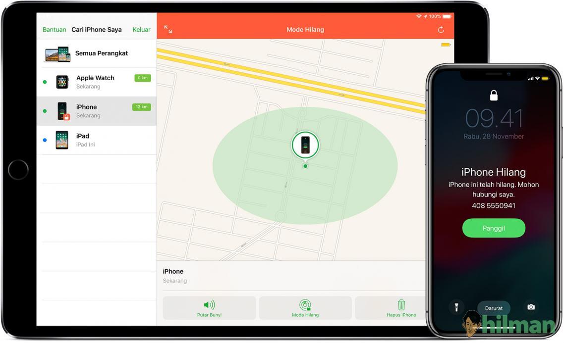 Jika iPhone, iPad, atau iPod touch Anda hilang atau dicuri, Apa yang harus dilakukan?