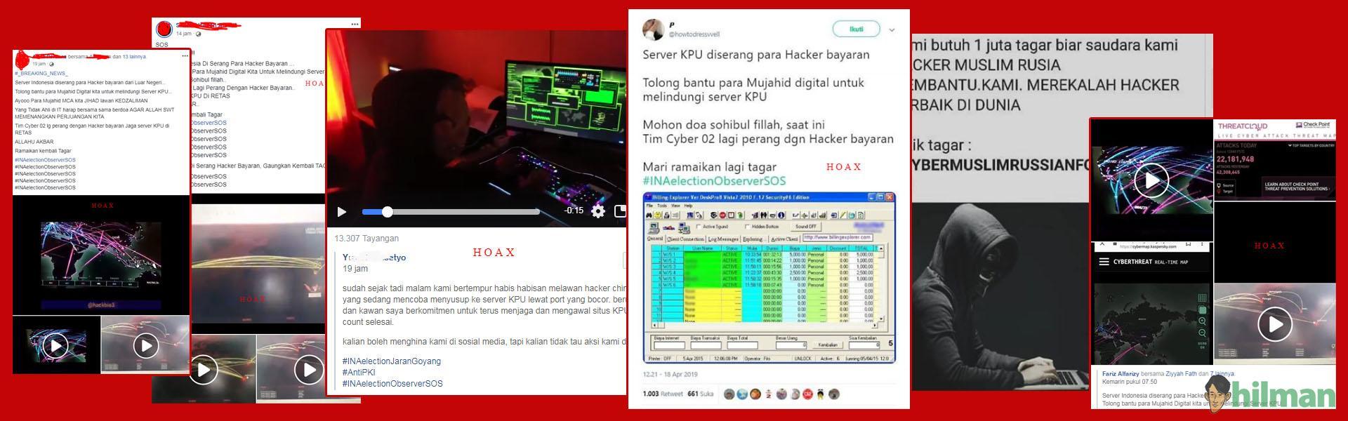 Hoax Perang Cyber Server KPU dan...