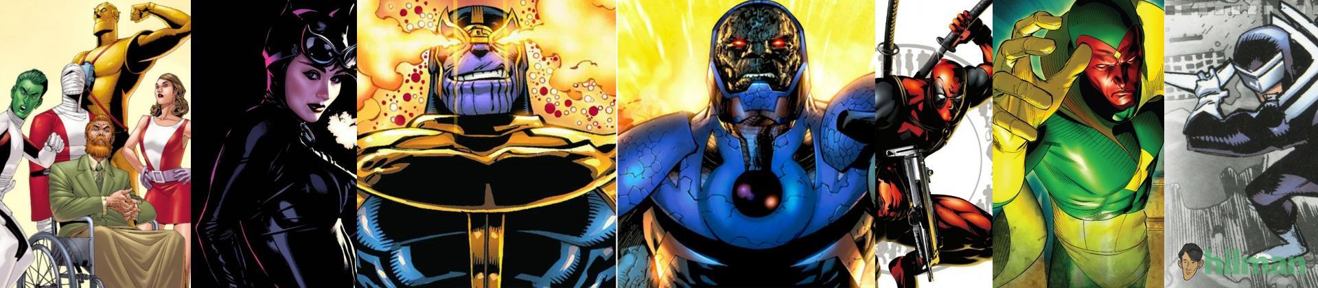 Karakter Superhero Marvel yang...