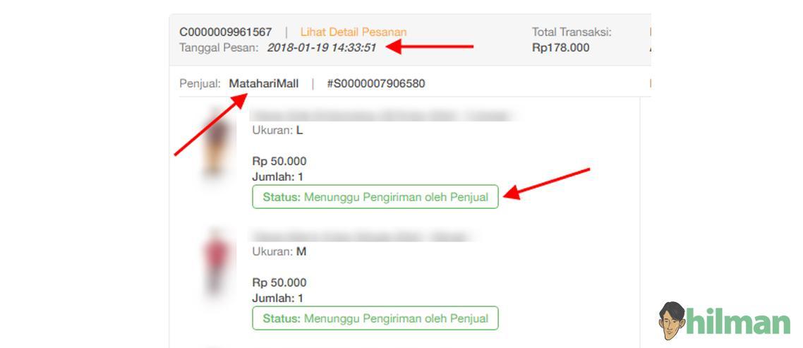 Pengalaman Belanja di MatahariMall.com dengan tipe pembayaran BCA Virtual Account