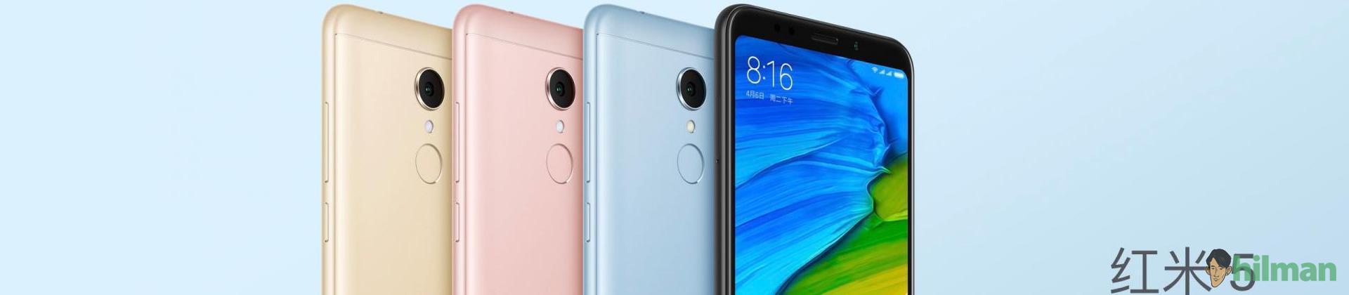 Xiaomi Rilis Redmi 5 dan 5 Plus,...