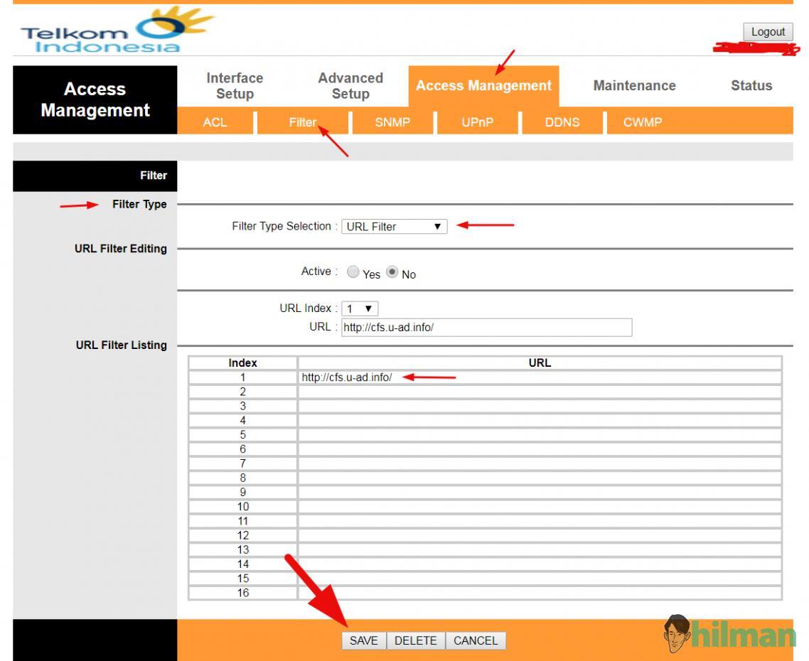 Cara Blokir Script Inject Iklan u-ad.info Telkom Speedy