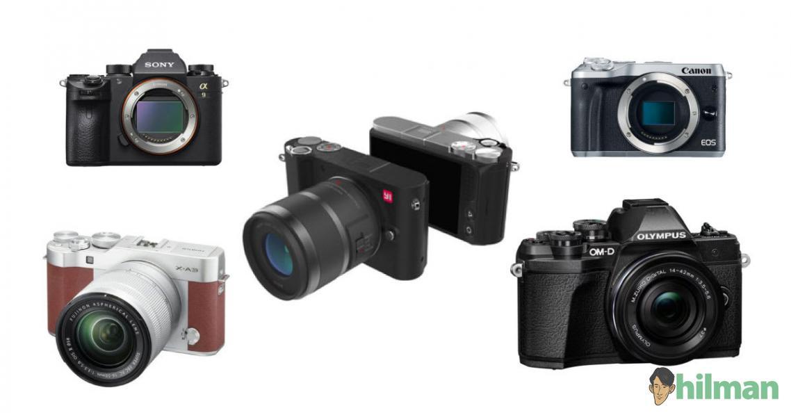 10 Kamera Mirrorless Murah dan Terbaik Harga Mulai Rp 2 Jutaan
