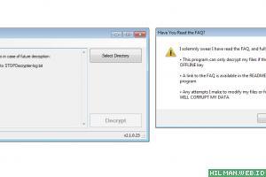 Download STOPDecrypter versi 2.1.0.23 dan Penjelasan Decrypt Virus Ransomware