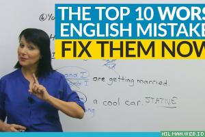 Common English Mistakes Indonesians Make