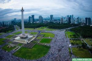 Aksi Damai 212 Jadi Standar Baru Kebersihan dan Ketertiban Demonstrasi di Indonesia