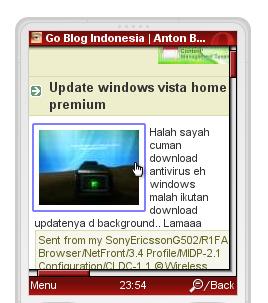 baca mobile blog